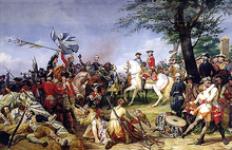 La bataille de Fontenoy 1745
