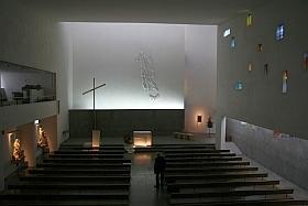Eglise du Rosaire, Mairie des Lilas à Paris.
