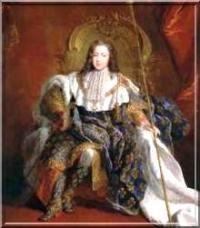 Louis XV le bien-aimé, enfant