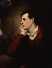 Portrait de Lord Byron par Richard Westall.