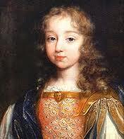 Le jeune Roi Louis XV