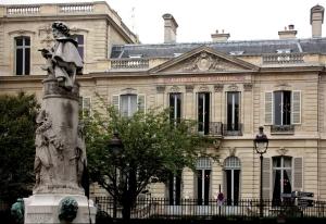 Façade de l'hôtel Dosne-Thiers, place Saint-Georges