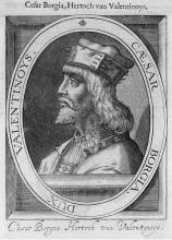Portrait de César Borgia
