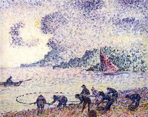 Henri Edmond Cross, pêcheur, 1895