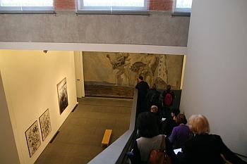 """Vladimir Velickovic, exposition """"Vladimir Velickovic, les versants du silence"""", Toulouse, Les Abattoirs, 2011"""