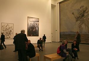 """Vladimir Vélickovic, exposition """"Vladimir Velickovic, les versants du silence"""", Toulouse, Les Abbatoirs, 2011"""