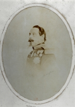 Napoléon III, Bisson Frères, 1860