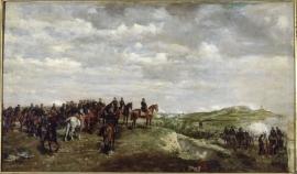 L'Empereur Napoléon III à Solferino, 24 juin 1859, Jean-Louis-Ernest Meissonier (1815-1891), 1863