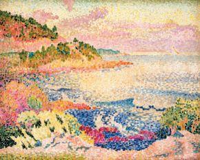 Henri Edmond Cross, Côte provençale Le Four des Maures, 1906-1907