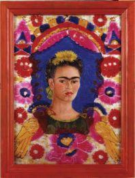 Frida Khalo, The Frame, (autoportrait),