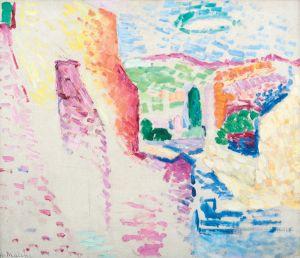 Henri Matisse, Collioure, rue du Soleil été 1905