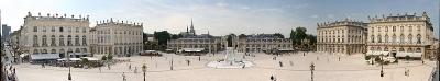 La Place Stanislas à Nancy, inscrite au patrimoine mondiale de l'UNESCO.