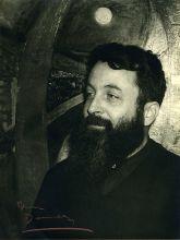 Portrait d'Étienne-Martin, vers 1950, tirage argentique