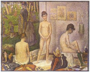 Georges Seurat, Les poseuses 1888