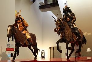 """Exposition """"Samouraï, Armure du guerrier"""". Du 8 novembre 2011 au 29 janvier 2012, Musée du quai Branly"""