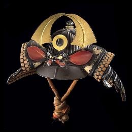 Sujibachi kabuto (casque à lamelles);Fin période Muromachi à milieu période Edo, XVIème à milieu XVIIIème siècle
