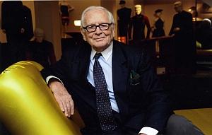 Pierre Cardin, membre de l'Académie des beaux-arts depuis 1991