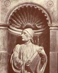 Buste de Marsile Ficin par Andrea Ferrucci à la cathédrale de Florence.