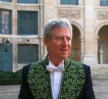Régis Wargnier, Cérémonie d'installation de l'académicien, 1er février 2012