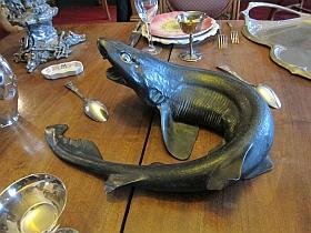 "Bronze de Sarah Bernhardt, ""Le requin"""