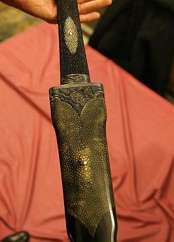 L'épée d'académicien de Régis Wargnier, 1er février 2012