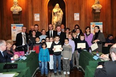 Lauréats 2011 des prix La main à la pâte