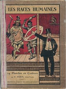 Titre: Les races humaines, date de l'affiche 1921