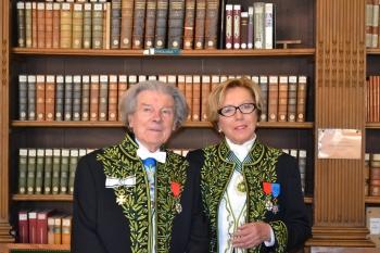 Danièle Sallenave, de l'Académie française et Dominique Fernandez