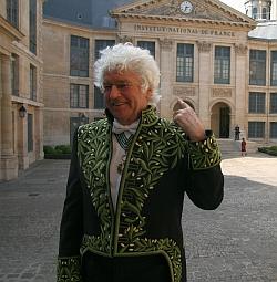 Installation de Jean-Jacques Annaud au sein de l'Académie des beaux-arts 28 mars 2012