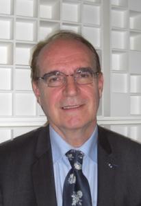 Michel Berthet, président national de l'Association des membres décorés de l'Ordre des Palmes académiques (AMOPA)