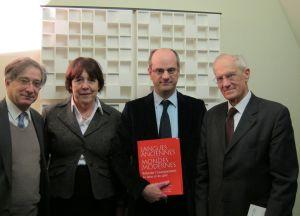 Olivier Audéoud, Jean-Michel Blanquer, Bertrand Saint-Sernin ont été rejoints par Catherine Brechignac, Secrétaire perpétuel de l'Académie des sciences, dans le studio de Canal Académie