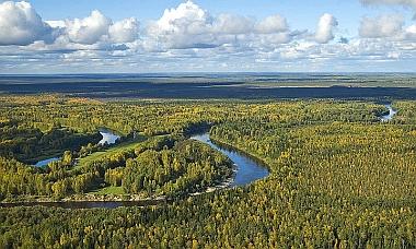 Vasyugan River, Tomsk oblast, Siberia, 2007