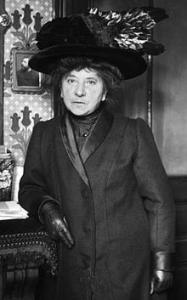 Hubertine Auclert (1848-1914), d'origine bourbonnaise et fondatrice du journal Le Droit des femmes