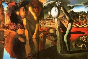La métamorphose de Narcisse de Salvator Dalí