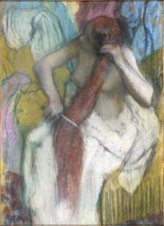 Femme se peignant ou La Chevelure, entre 1886 et 1890