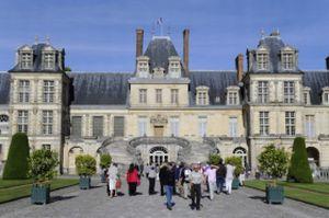 Le château de Fontainebleau pendant l'édition 2011