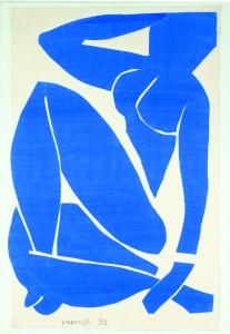 Nu bleu II (1952)