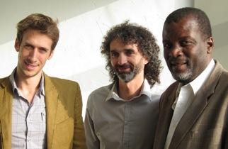 David Lasserre, Sylvain Taussac et Rénold Telfort
