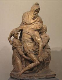 Pietà de Florence par Michel-Ange