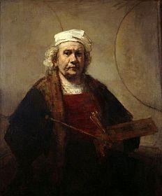 Autoportrait par Rembrandt (1661)