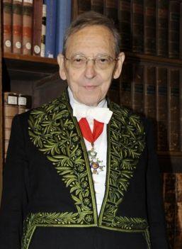 François Gros à l'Académie Française