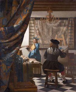 Vermeer, L'art de la peinture, 1665