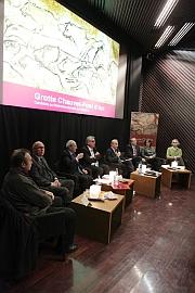 Conférence pour le lancement de la candidature de la Grotte Chauvet, musée du Quai Branly, le 6 décembre 2012