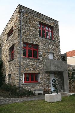 Fondation Arp, Clamart, Maison conçue par Sophie Taeuber