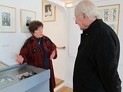 Claude Parent et Claude Weil-Seigeot, Fondation Arp, 5 avril 2012