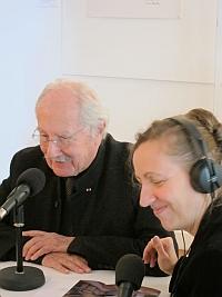 Claude Parent à la Fondation Arp, 5 avril 2012