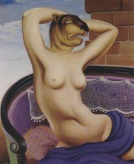 Le bonheur d'être aimé, Félix Labisse, 1943