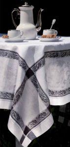 Nappe et serviette
