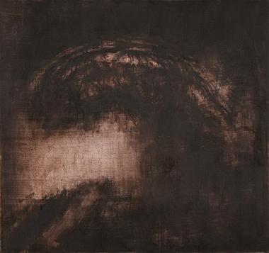 Pierre-Édouard, L'Arche, encre sur papier, 2011, 78 x 73, 5 cm