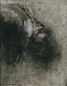 Pierre-Édouard, Petite tête penchée, N°2, 2008, 15,8 x 12,3 cm